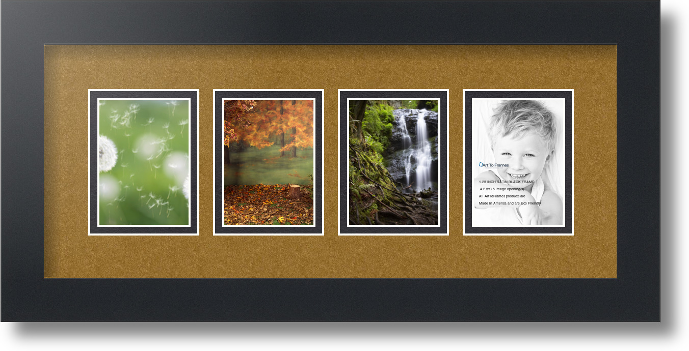 Arttoframes Collage Mat Picture Photo Frame 4 2 5x3 5