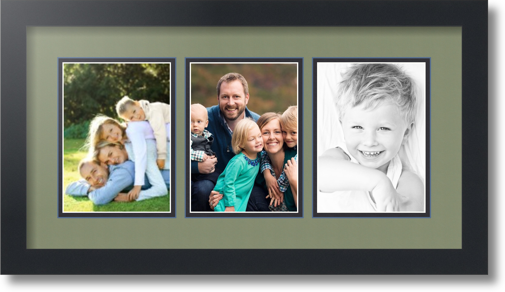 5x7 Collage Frame With 8 Openings.Perfect Collage Frames With Clock ...