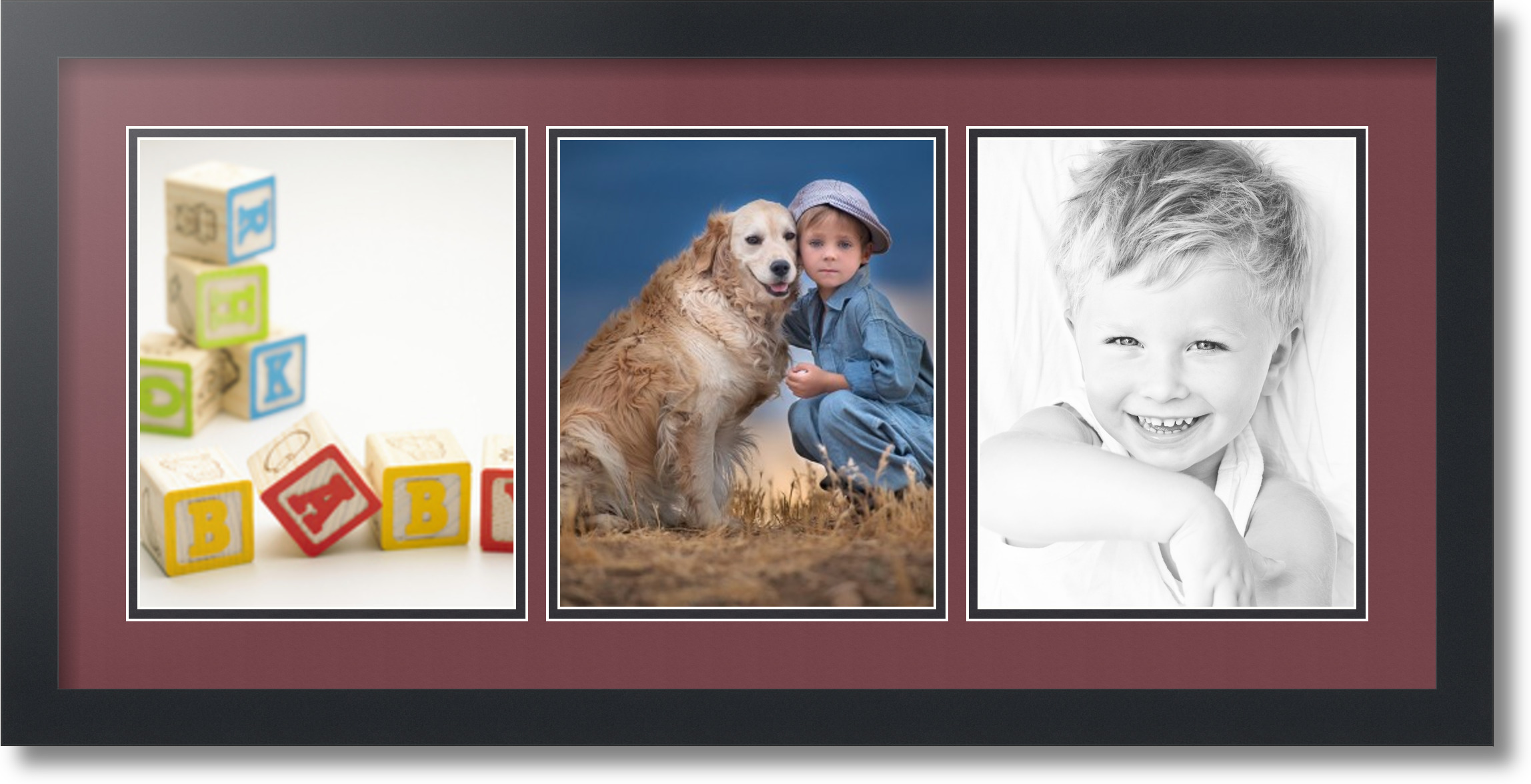 11x14 Photo Mat With 8x10 Opening.Photo Mat 11x14 Multi Opening For ...