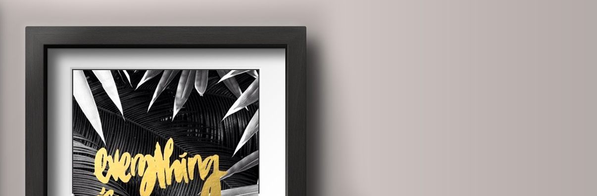 Black Picture Frames | Black Picture Frames with Mats| Black Collage ...