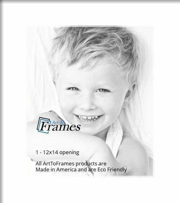Arttoframes Custom Super White Picture Photo Frame Mat