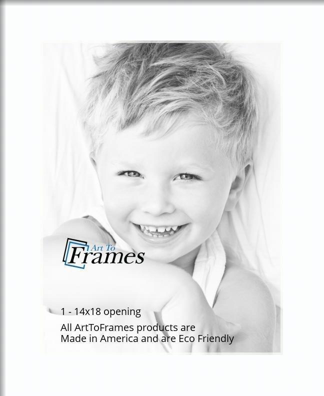 Arttoframes Custom Super White Picture Photo Frame Mat
