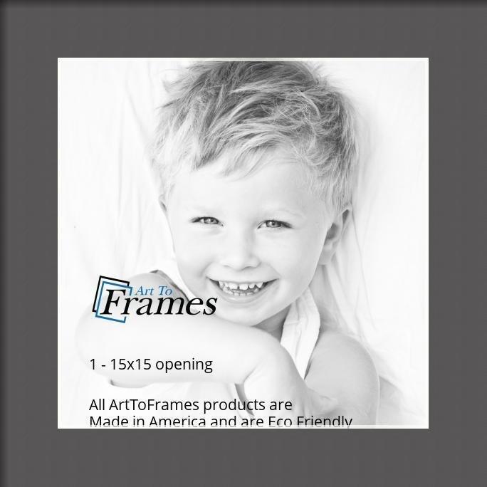 ArtToFrames-Custom-Black-Charcoal-Picture-Photo-Frame-Mat-Matting-Board-LG thumbnail 6
