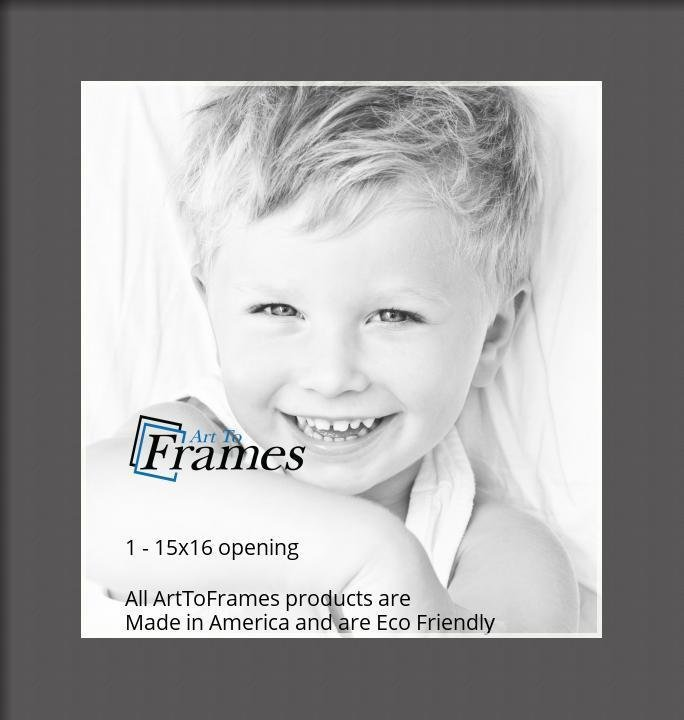 ArtToFrames-Custom-Black-Charcoal-Picture-Photo-Frame-Mat-Matting-Board-LG thumbnail 7