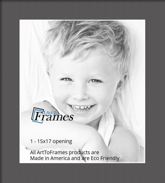 ArtToFrames-Custom-Black-Charcoal-Picture-Photo-Frame-Mat-Matting-Board-LG thumbnail 8