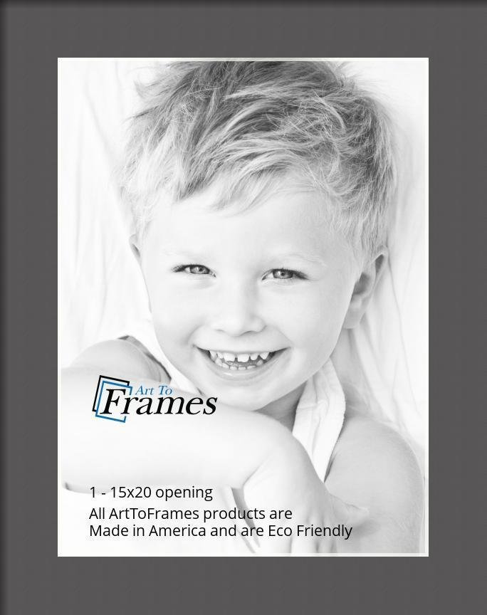 ArtToFrames-Custom-Black-Charcoal-Picture-Photo-Frame-Mat-Matting-Board-LG thumbnail 10