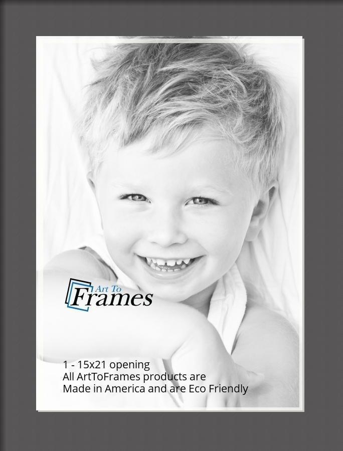 ArtToFrames-Custom-Black-Charcoal-Picture-Photo-Frame-Mat-Matting-Board-LG thumbnail 11