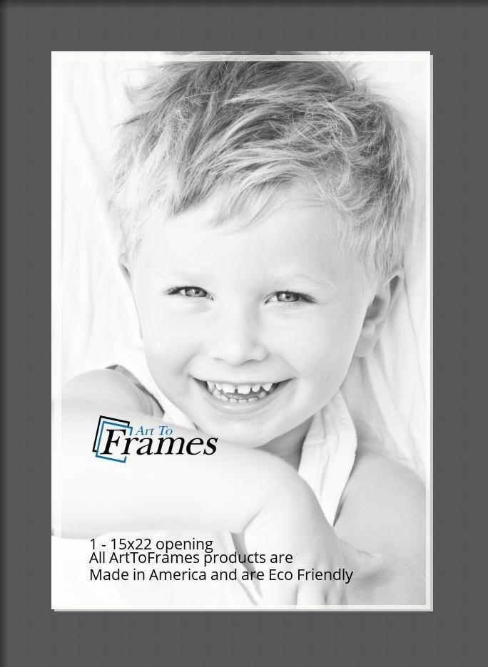 ArtToFrames-Custom-Black-Charcoal-Picture-Photo-Frame-Mat-Matting-Board-LG thumbnail 12