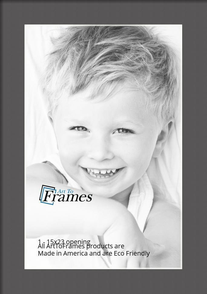 ArtToFrames-Custom-Black-Charcoal-Picture-Photo-Frame-Mat-Matting-Board-LG thumbnail 13