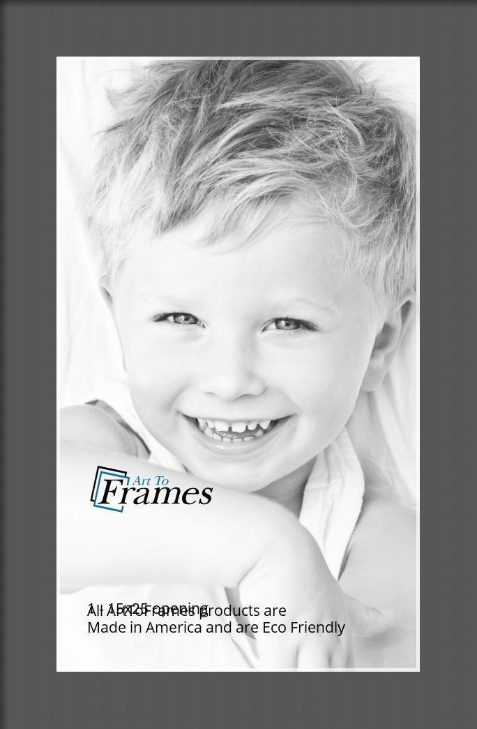 ArtToFrames-Custom-Black-Charcoal-Picture-Photo-Frame-Mat-Matting-Board-LG thumbnail 15