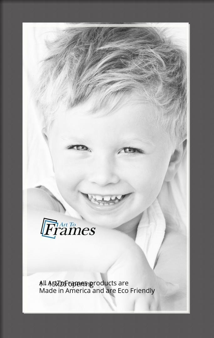 ArtToFrames-Custom-Black-Charcoal-Picture-Photo-Frame-Mat-Matting-Board-LG thumbnail 16