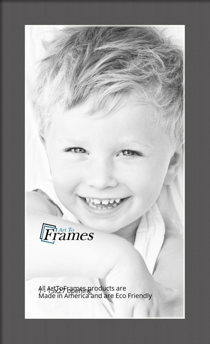 ArtToFrames-Custom-Black-Charcoal-Picture-Photo-Frame-Mat-Matting-Board-LG thumbnail 17