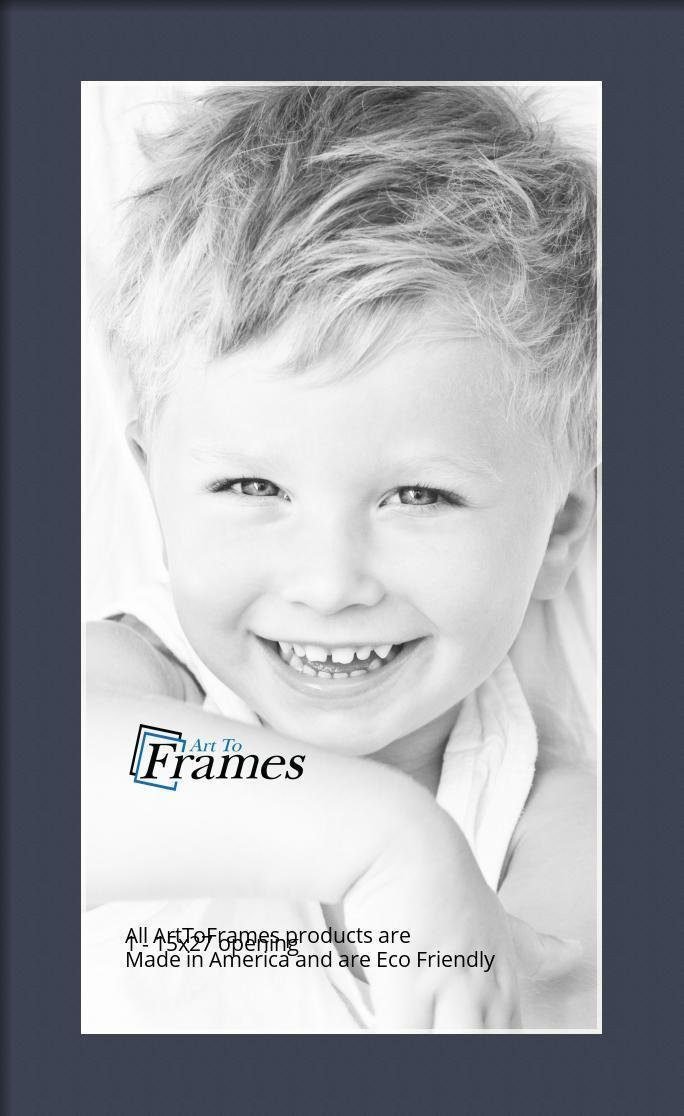 Arttoframes Custom Blue Jay Picture Photo Frame Mat