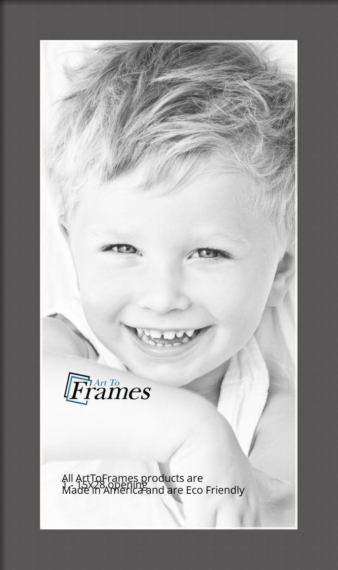 ArtToFrames-Custom-Black-Charcoal-Picture-Photo-Frame-Mat-Matting-Board-LG thumbnail 18