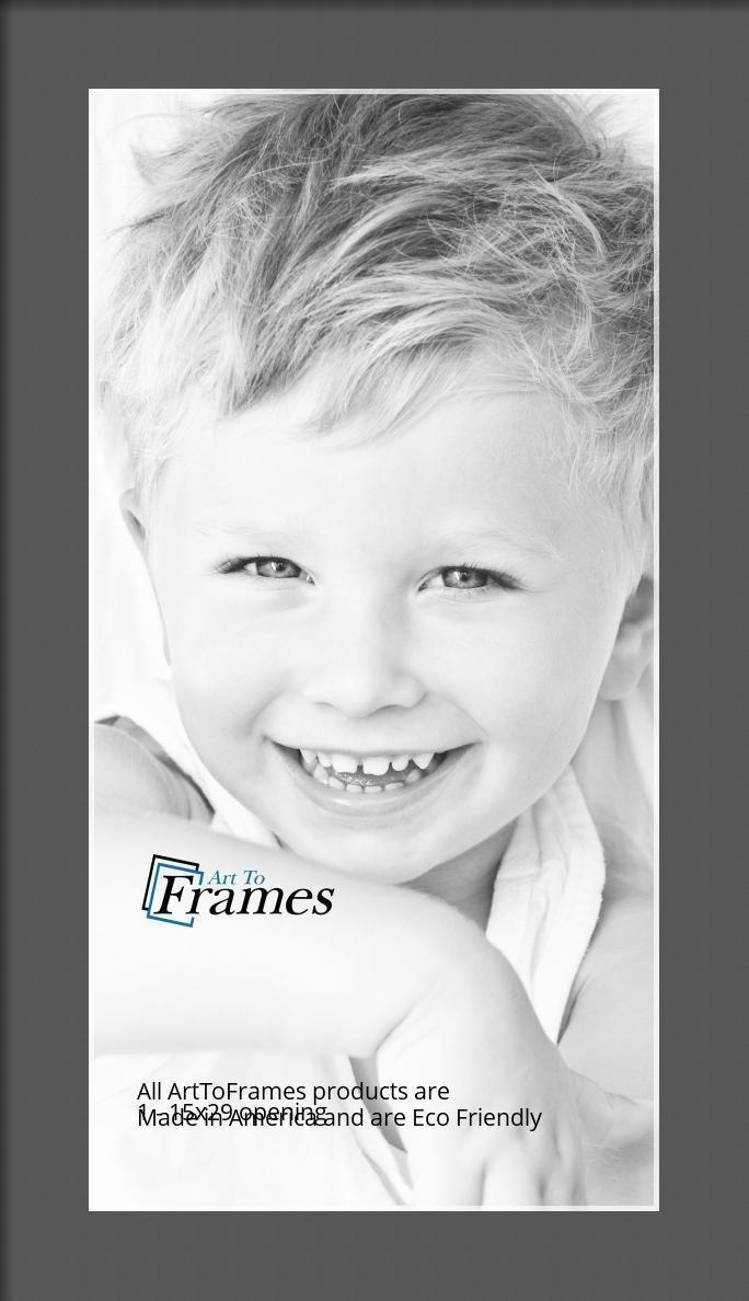 ArtToFrames-Custom-Black-Charcoal-Picture-Photo-Frame-Mat-Matting-Board-LG thumbnail 19