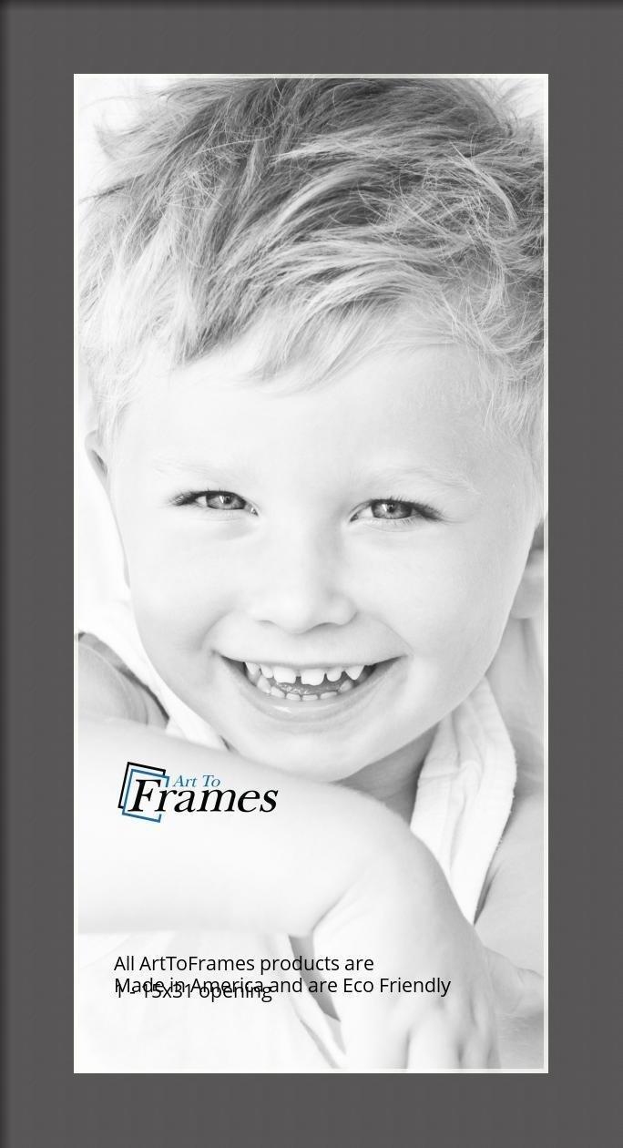 ArtToFrames-Custom-Black-Charcoal-Picture-Photo-Frame-Mat-Matting-Board-LG thumbnail 21