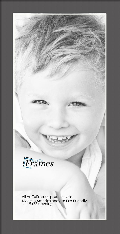 ArtToFrames-Custom-Black-Charcoal-Picture-Photo-Frame-Mat-Matting-Board-LG thumbnail 23