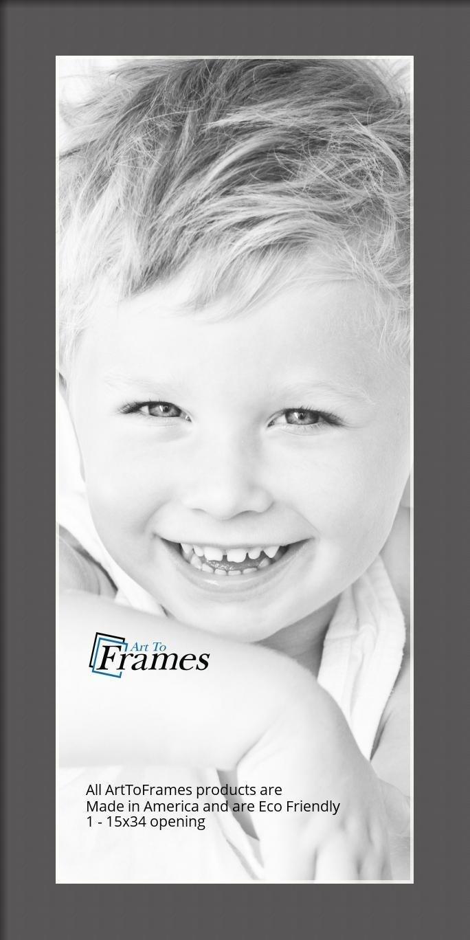 ArtToFrames-Custom-Black-Charcoal-Picture-Photo-Frame-Mat-Matting-Board-LG thumbnail 24