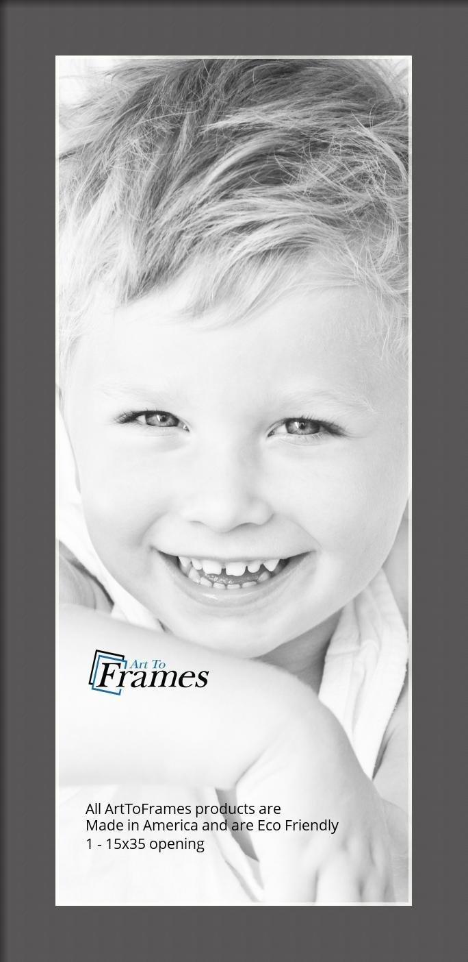 ArtToFrames-Custom-Black-Charcoal-Picture-Photo-Frame-Mat-Matting-Board-LG thumbnail 25