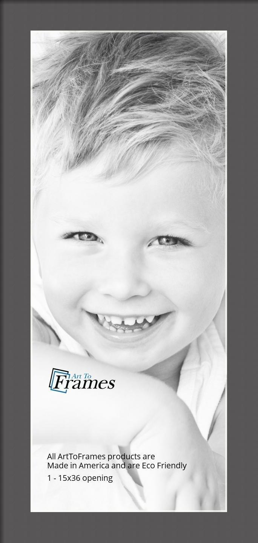 ArtToFrames-Custom-Black-Charcoal-Picture-Photo-Frame-Mat-Matting-Board-LG thumbnail 26