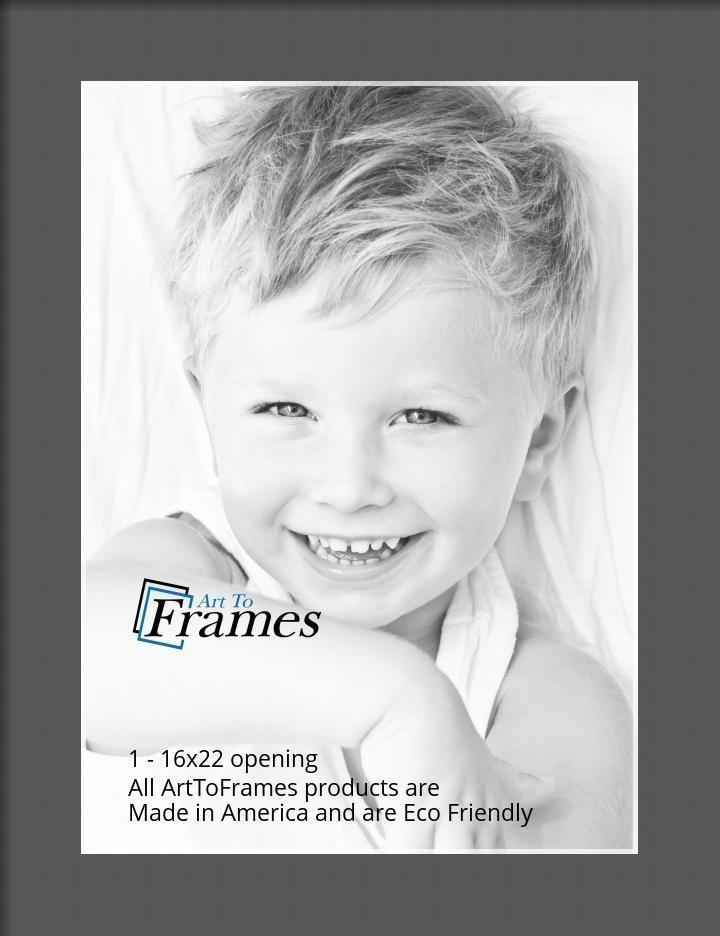 ArtToFrames-Custom-Black-Charcoal-Picture-Photo-Frame-Mat-Matting-Board-LG thumbnail 31