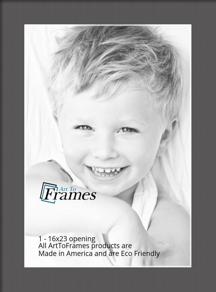 ArtToFrames-Custom-Black-Charcoal-Picture-Photo-Frame-Mat-Matting-Board-LG thumbnail 32
