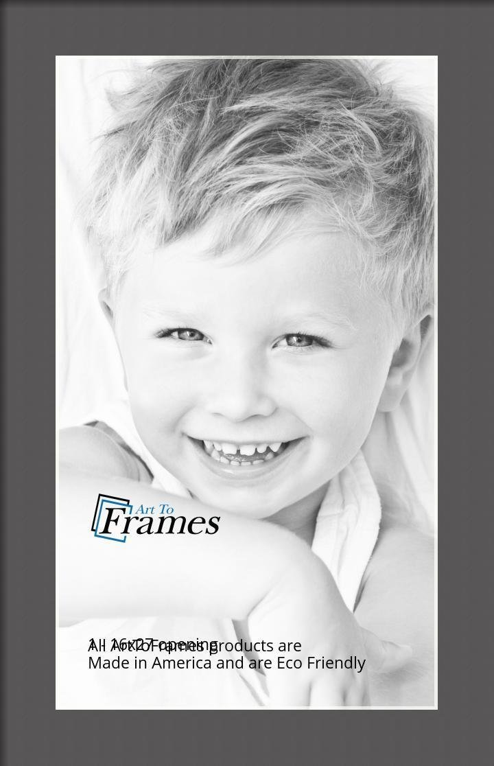 ArtToFrames-Custom-Black-Charcoal-Picture-Photo-Frame-Mat-Matting-Board-LG thumbnail 35