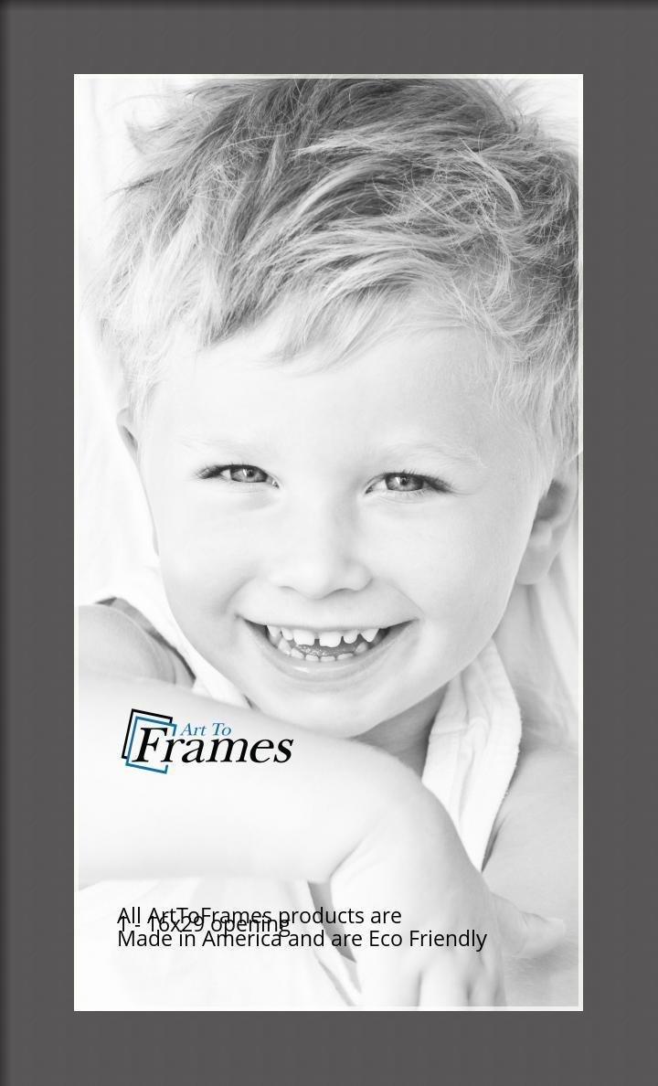 ArtToFrames-Custom-Black-Charcoal-Picture-Photo-Frame-Mat-Matting-Board-LG thumbnail 37