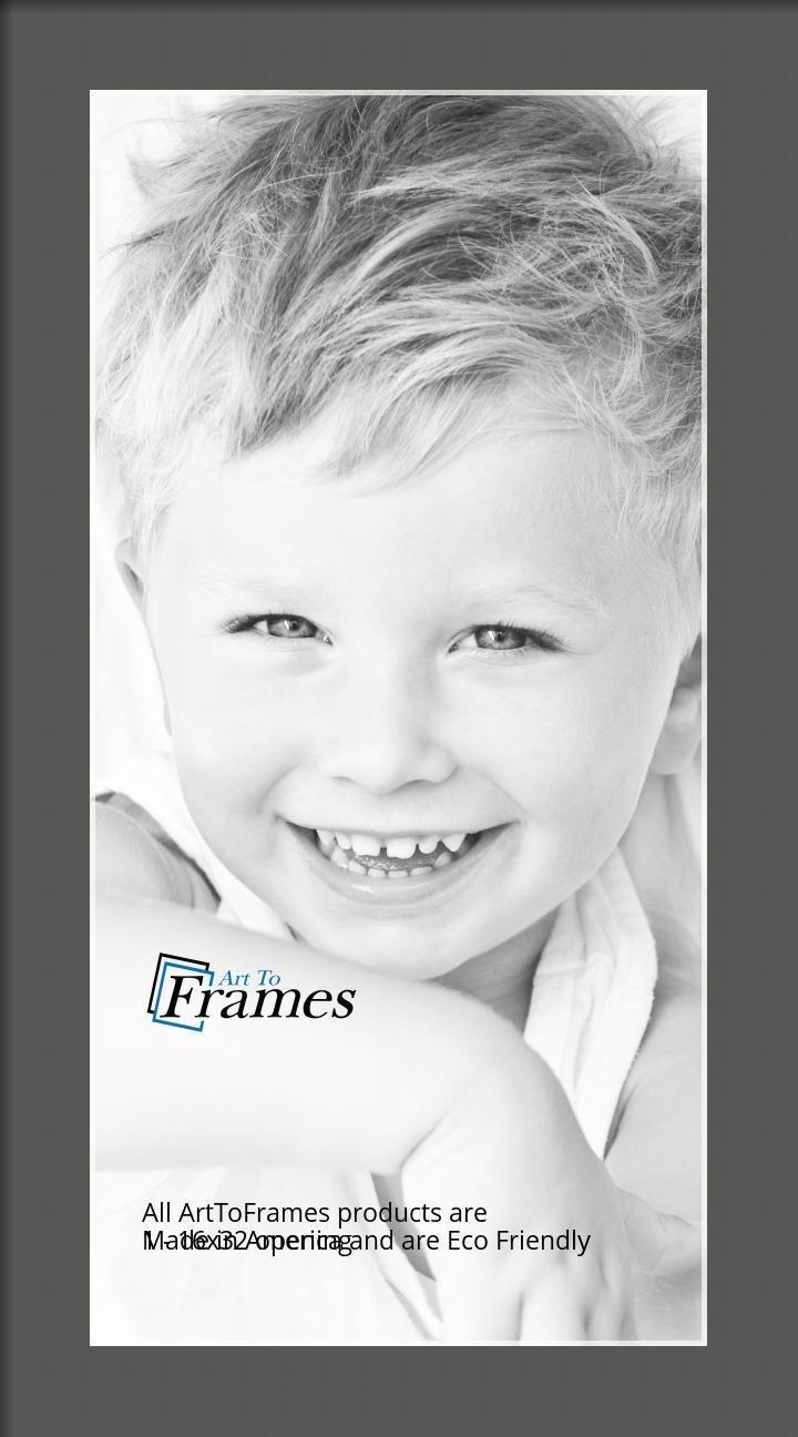 ArtToFrames-Custom-Black-Charcoal-Picture-Photo-Frame-Mat-Matting-Board-LG thumbnail 40
