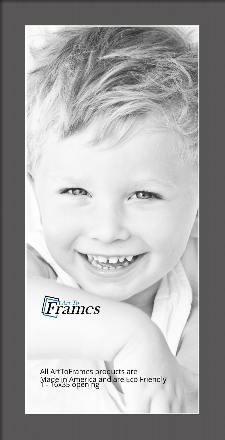 ArtToFrames-Custom-Black-Charcoal-Picture-Photo-Frame-Mat-Matting-Board-LG thumbnail 43
