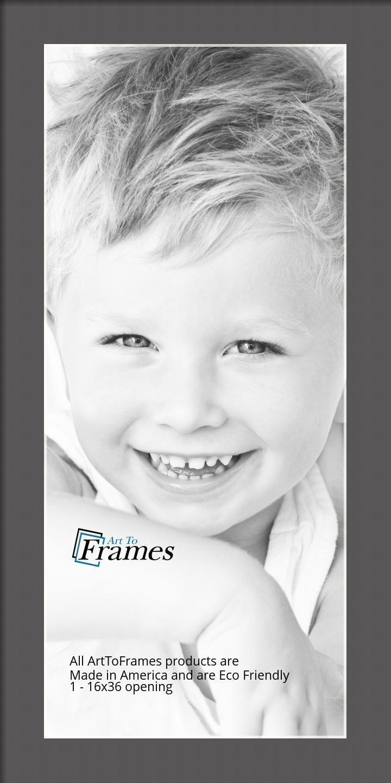 ArtToFrames-Custom-Black-Charcoal-Picture-Photo-Frame-Mat-Matting-Board-LG thumbnail 44