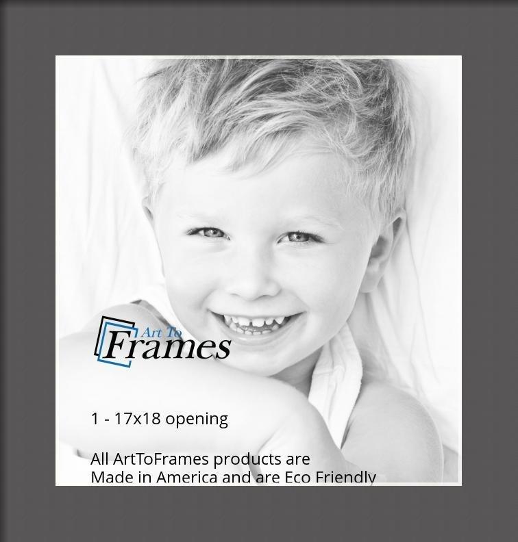 ArtToFrames-Custom-Black-Charcoal-Picture-Photo-Frame-Mat-Matting-Board-LG thumbnail 46