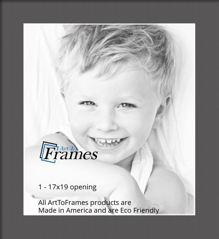 ArtToFrames-Custom-Black-Charcoal-Picture-Photo-Frame-Mat-Matting-Board-LG thumbnail 47