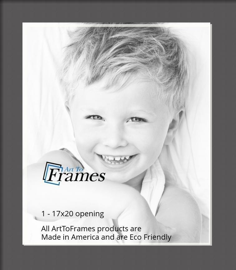 ArtToFrames-Custom-Black-Charcoal-Picture-Photo-Frame-Mat-Matting-Board-LG thumbnail 48
