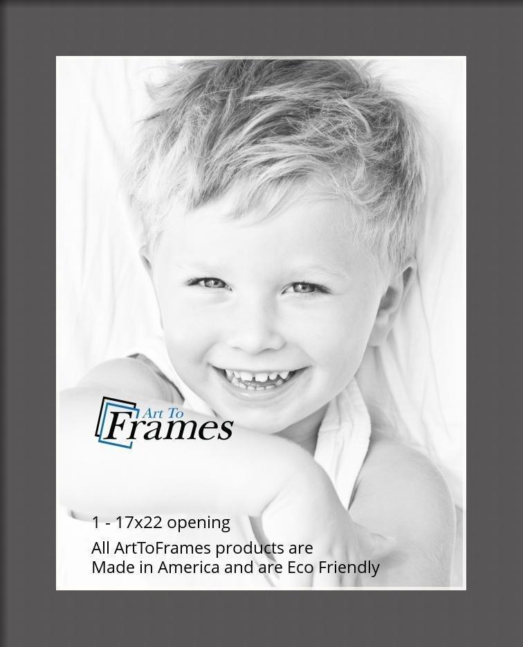 ArtToFrames-Custom-Black-Charcoal-Picture-Photo-Frame-Mat-Matting-Board-LG thumbnail 50