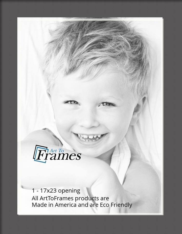 ArtToFrames-Custom-Black-Charcoal-Picture-Photo-Frame-Mat-Matting-Board-LG thumbnail 51