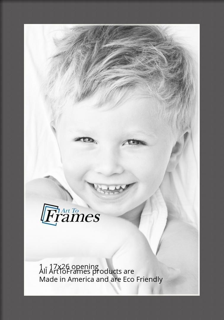 ArtToFrames-Custom-Black-Charcoal-Picture-Photo-Frame-Mat-Matting-Board-LG thumbnail 54