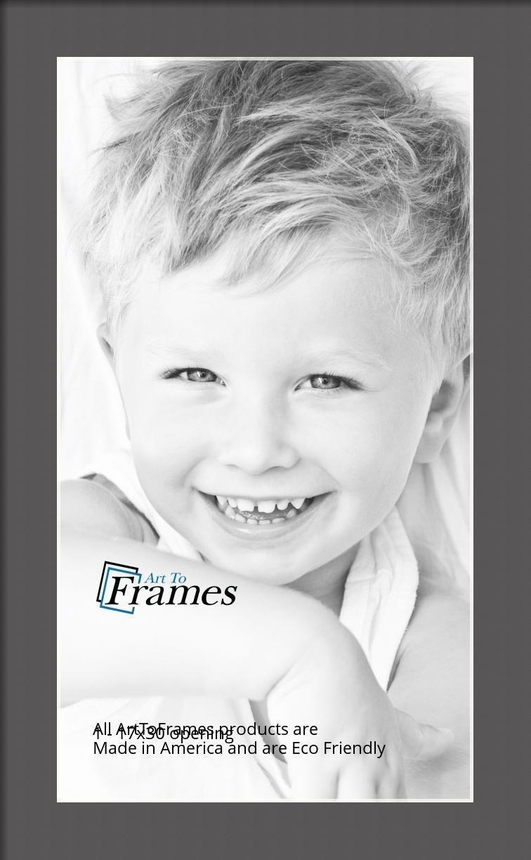 ArtToFrames-Custom-Black-Charcoal-Picture-Photo-Frame-Mat-Matting-Board-LG thumbnail 58