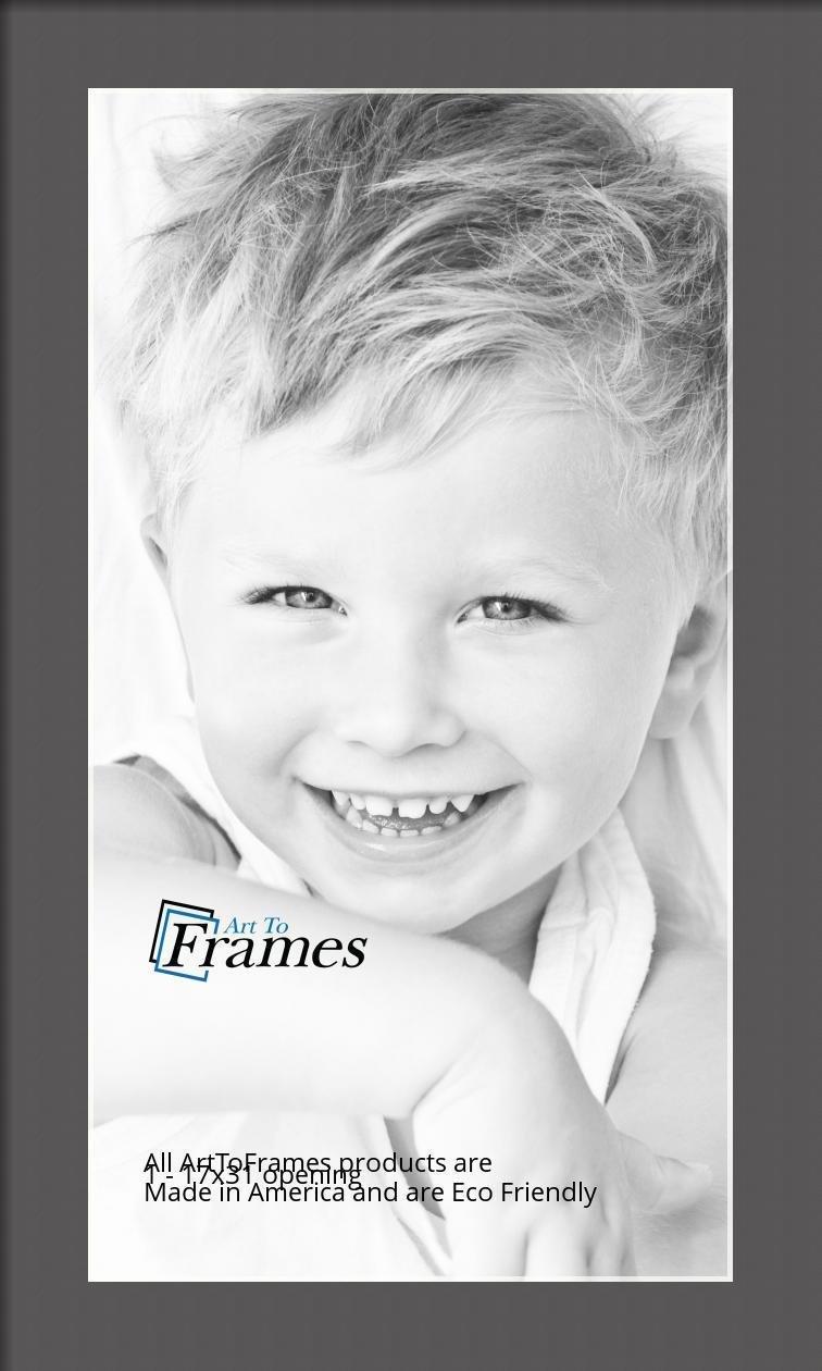 ArtToFrames-Custom-Black-Charcoal-Picture-Photo-Frame-Mat-Matting-Board-LG thumbnail 59