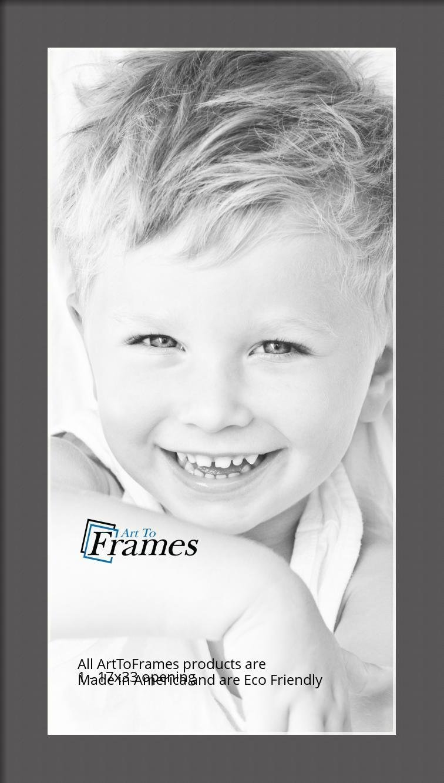 ArtToFrames-Custom-Black-Charcoal-Picture-Photo-Frame-Mat-Matting-Board-LG thumbnail 61