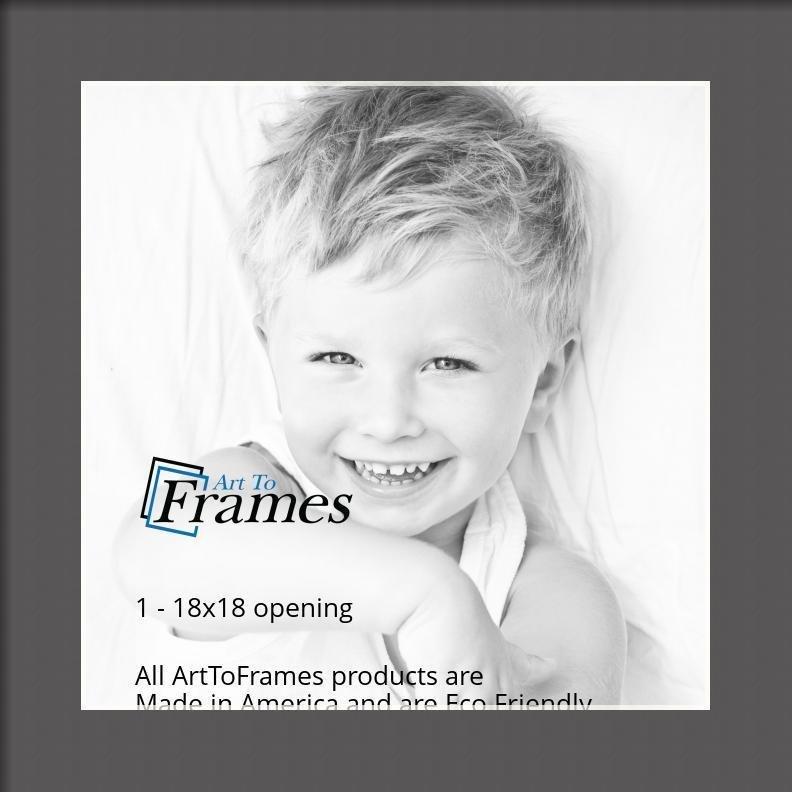 ArtToFrames-Custom-Black-Charcoal-Picture-Photo-Frame-Mat-Matting-Board-LG thumbnail 65
