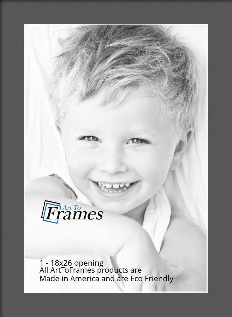 ArtToFrames-Custom-Black-Charcoal-Picture-Photo-Frame-Mat-Matting-Board-LG thumbnail 71