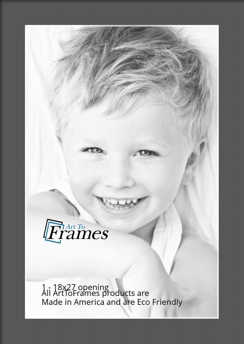 ArtToFrames-Custom-Black-Charcoal-Picture-Photo-Frame-Mat-Matting-Board-LG thumbnail 72