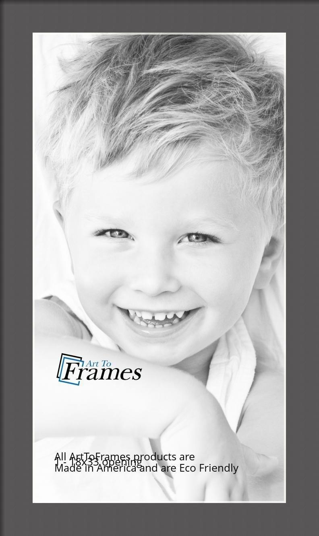 ArtToFrames-Custom-Black-Charcoal-Picture-Photo-Frame-Mat-Matting-Board-LG thumbnail 78