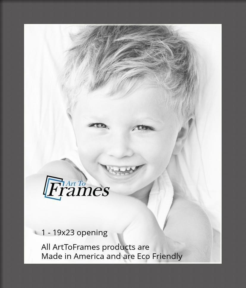 ArtToFrames-Custom-Black-Charcoal-Picture-Photo-Frame-Mat-Matting-Board-LG thumbnail 85