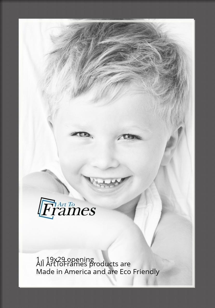 ArtToFrames-Custom-Black-Charcoal-Picture-Photo-Frame-Mat-Matting-Board-LG thumbnail 91