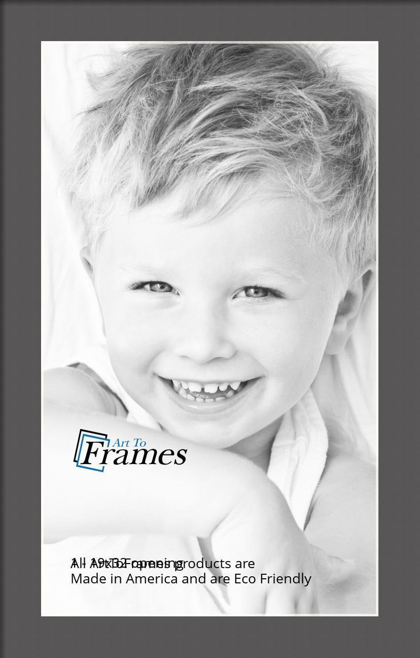 ArtToFrames-Custom-Black-Charcoal-Picture-Photo-Frame-Mat-Matting-Board-LG thumbnail 94