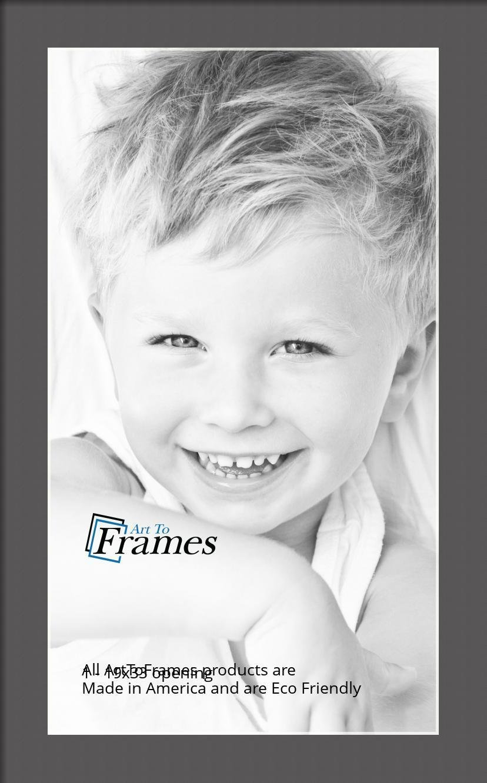 ArtToFrames-Custom-Black-Charcoal-Picture-Photo-Frame-Mat-Matting-Board-LG thumbnail 95