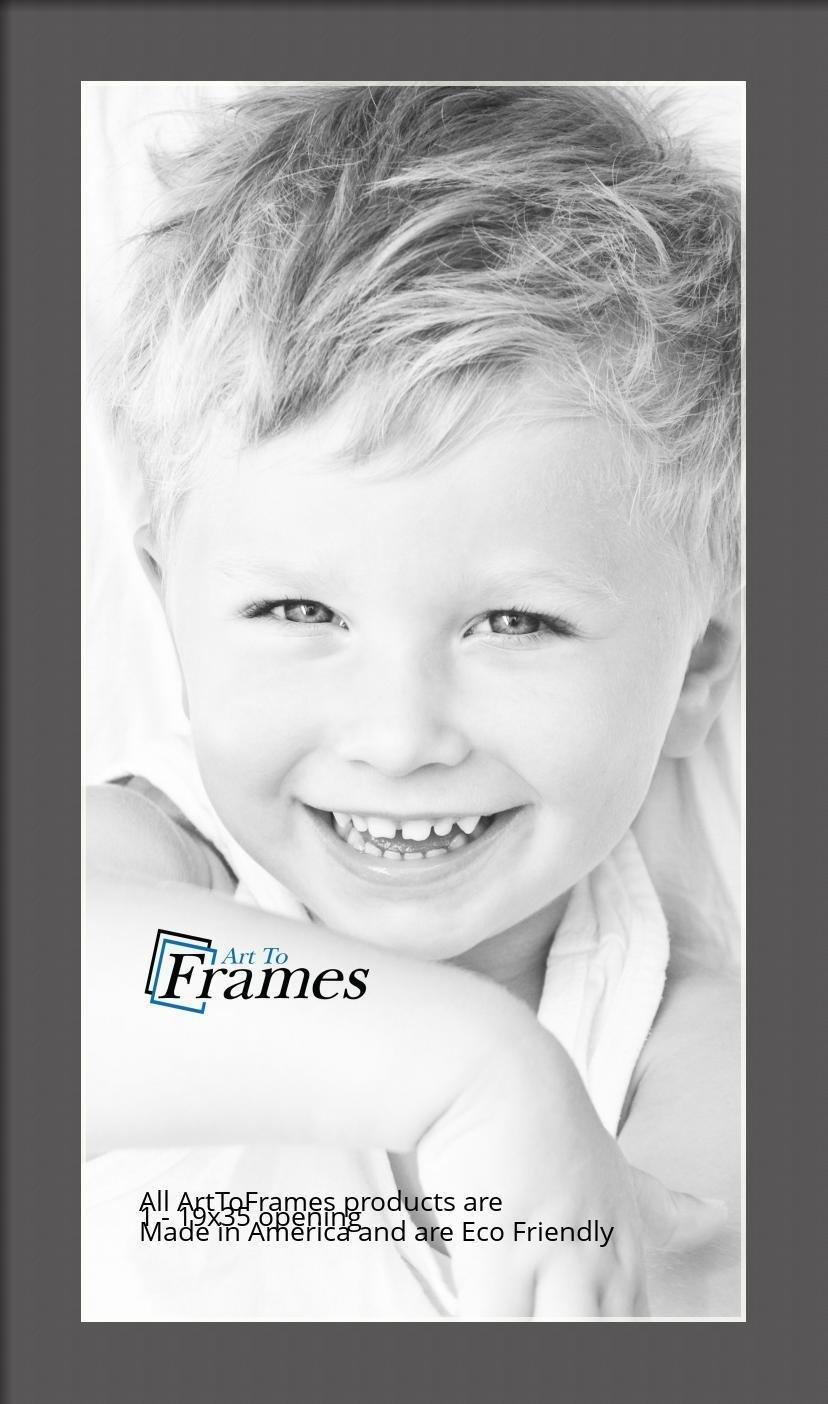 ArtToFrames-Custom-Black-Charcoal-Picture-Photo-Frame-Mat-Matting-Board-LG thumbnail 97