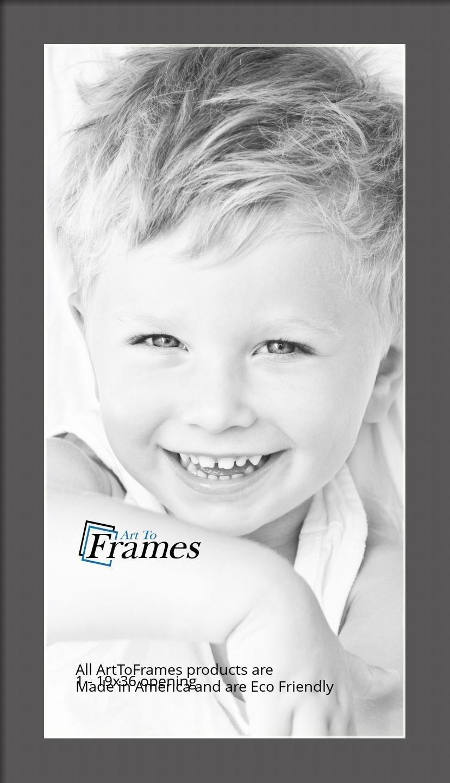 ArtToFrames-Custom-Black-Charcoal-Picture-Photo-Frame-Mat-Matting-Board-LG thumbnail 98